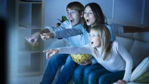 telewizja, tv, rodzina