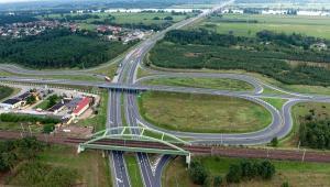 Autostrada A1 na odcinku Nowe Marzy - Toruń, zdjęcie lotnicze. Fot. Kacper Kowalski aeromedia.pl, źródło: materiały Ministerstwa Transportu, Budownictwa i Gospodarki Morskiej