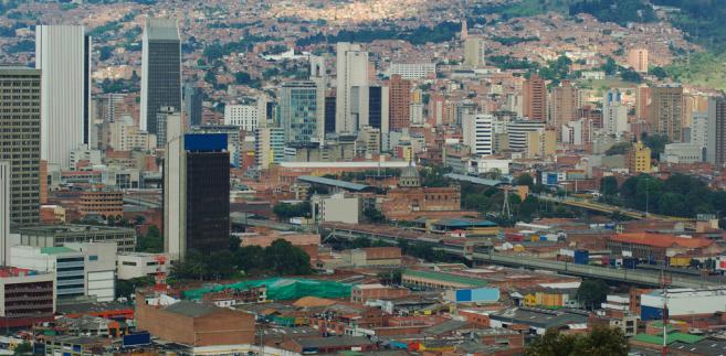 Medellin, drugie co do wielkości miasto w Kolumbii