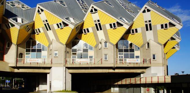 Holandia, Rotterdam - Cube Houses