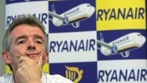 Szef tanich linii lotniczych Rynair Michael O Leary.