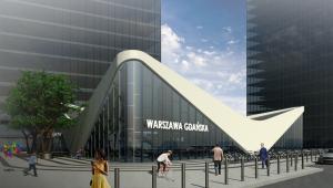 Dworzec Warszawa Gdańska - koncepcja Marvipolu (1)