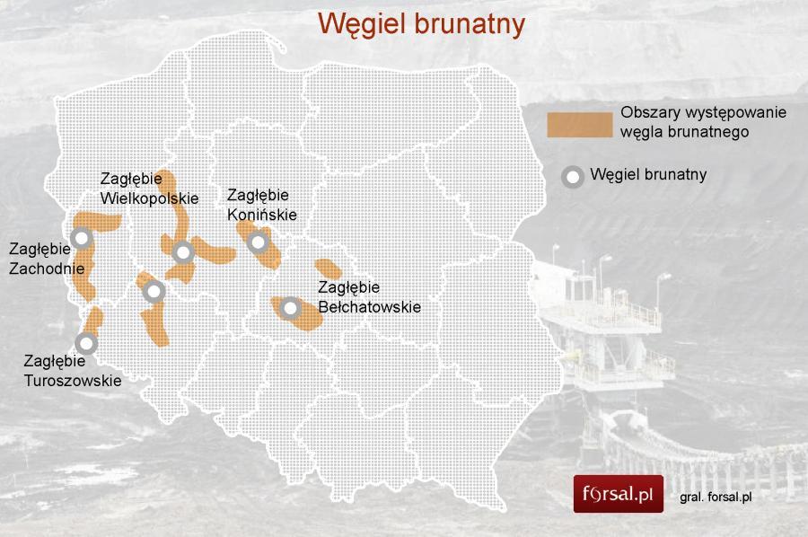 Surowce Mineralne W Polsce Mapy Gaz łupkowy Tight Oil Ropa