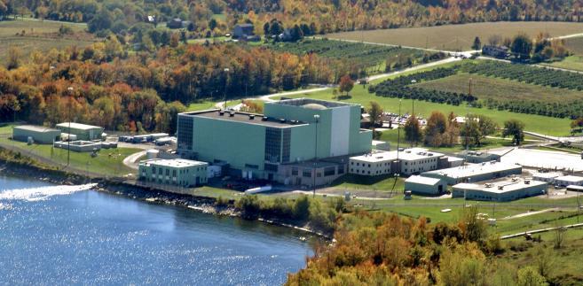 Elektrownia atomowa Ginna Nuclear Power Plant, Ontario, Nowy Jork, USA