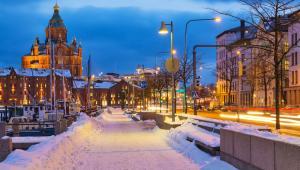 Stare miasto w Helsinkach