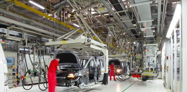 Istniejąca fabryka samochodów użytkowych Volkswagen Poznań. Fot. materiały prasowe