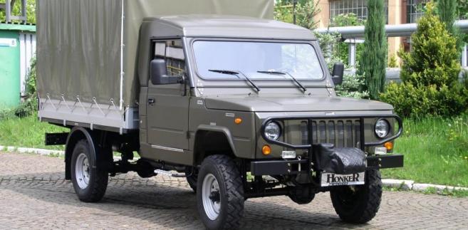 Honker truck. fot. materiały prasowe producenta DZT Tymińscy
