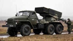 Wyrzutnia rakiet BM 21 Grad