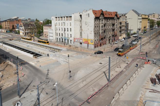 Budowa centralnego przystanku przesiadkowego w Łodzi