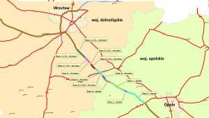 Etapy remontu autostrady A4 Opole Wrocław
