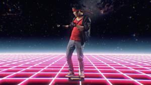 Kadr z filmu Kung Fury