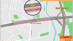 Most Grota - organizacja ruchu