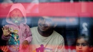 Imigranci na stacji kolejowej w Monachium, EPA/NICOLAS ARMER Dostawca: PAP/EPA.