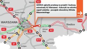 A2 - od węzła Lubeska do obwodnicy Mińska Maz.