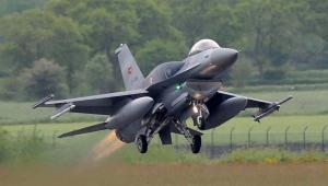 Turecki myśliwiec F16 EPA/INGO WAGNER Dostawca: PAP/EPA.