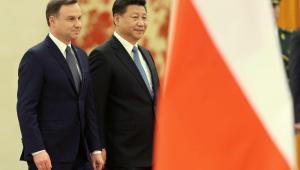 Prezydent Chin Xi Jinping i prezydent Polski Andrzej Duda EPA/WU HONG Dostawca: PAP/EPA.