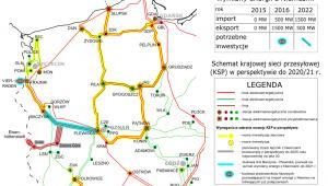 Sieć przesyłowa energii elektrycznej w Polsce zachodniej