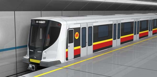 Pesa. Jedna z koncepcji pociągu metra.