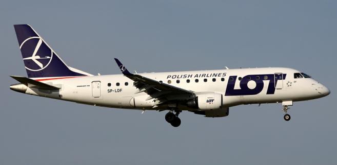 Embraer 170. Ten samolot wytypowany jest przez LOT do wycofania