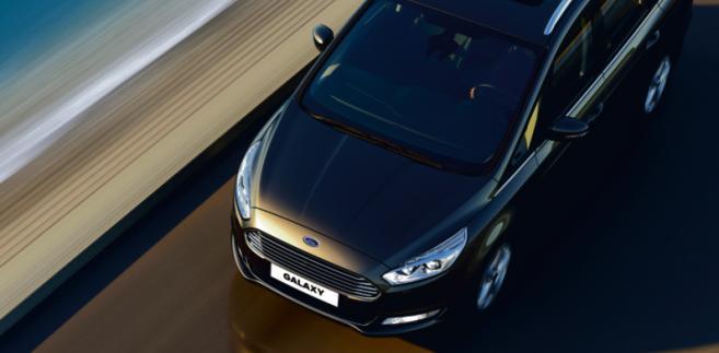 Ford Galaxy materiały prasowe