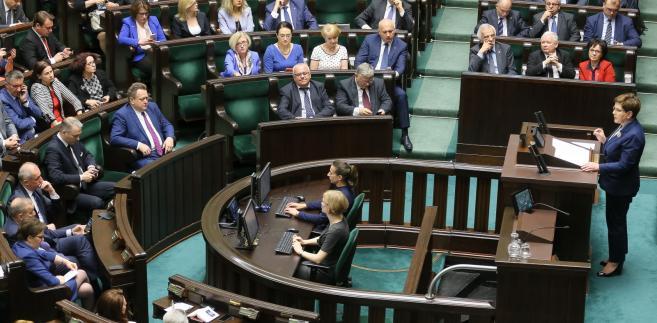 Sejm audyt PO-PSL