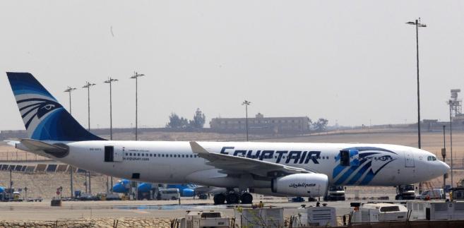 Samolot linii EgyptAir