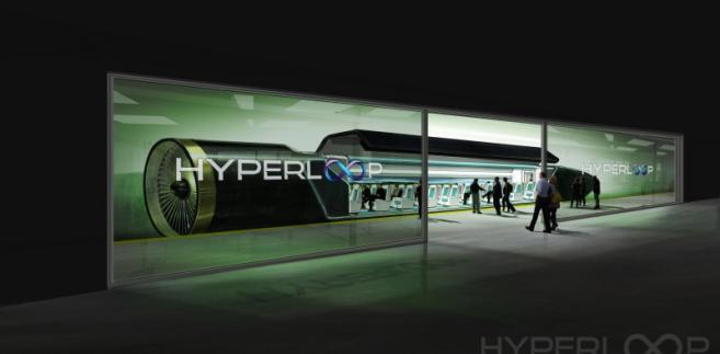 Hyperloop - wizualizacja