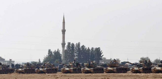 Turecka ofensywa w Syrii  EPA/SEDAT SUNA Dostawca: PAP/EPA.
