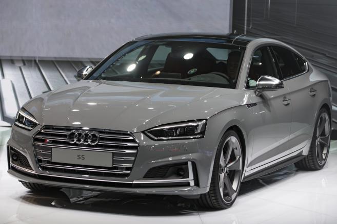 France Paris Motor Show - Audi S5