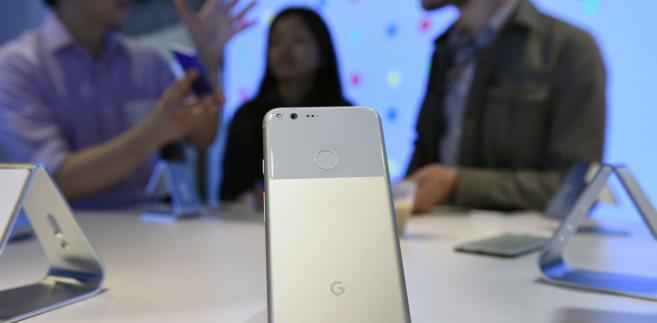 Google prezentuje smartfony Pixel. San Francisco, Kalifornia, 4.10.2016