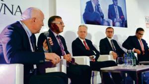 Od lewej: Wojciech Jasiński, Zbigniew Jagiełło, Adam Góral, Paweł Borys, Michal Krupiński