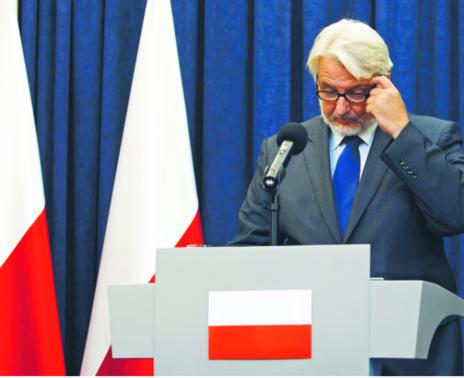 Witold Waszczykowski będzie musiał się pozbyć z dyplomacji osób pracujących w służbie zagranicznej w czasach PRL fot. Krystian Maj/Forum