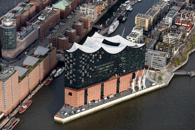 Filharmonia w Hamburgu. Fot. Michael Zapf