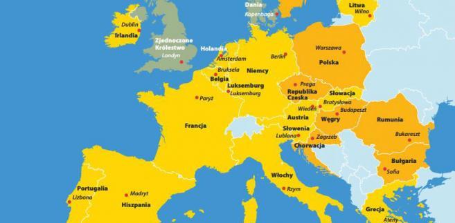 Strefa euro Fot.oficjalny portal UE