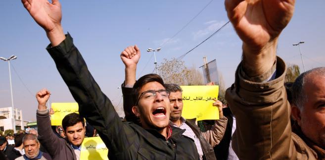 Protest w Iranie