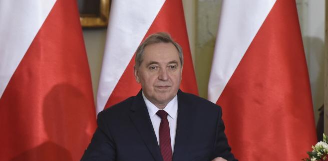 Henryk Kowalczyk, nowy minister środowiska. Fot. PAP/Radek Pietruszka