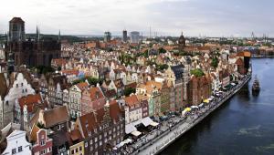 Panorama miasta, Gdańsk