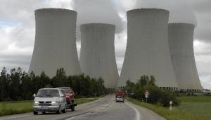 Elektrownia atomowa w Temelinie, południowe Czechy, należąca do CEZ