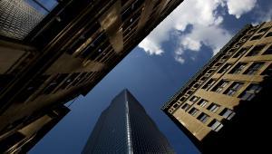 Widok na bostońskie wieżowce