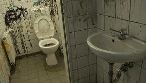 Szkolna łazienka