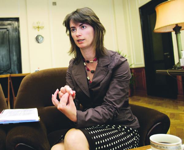 Wiceminister finansów, Katarzyna Zajdel-Kurowska.