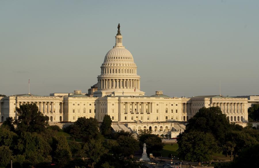 Kapitol Stanów Zjednoczonych, siedziba Kongresu, Waszyngton D.C.