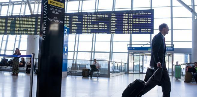 Lotnisko im. Fryderyka Chopina (Okęcie) w Warszawie. 12.06.2013