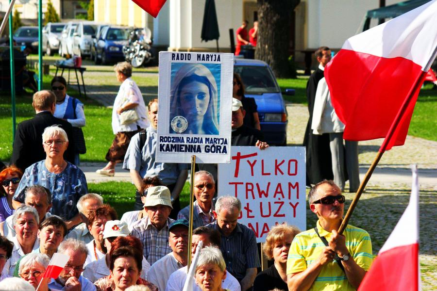 Manifestacja w obronie TV Trwam