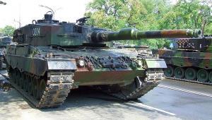 Czołg Leopard, fot.  Hiuppo, CC 3.0.