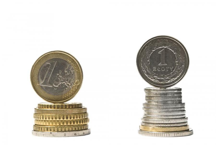Euro i zloty