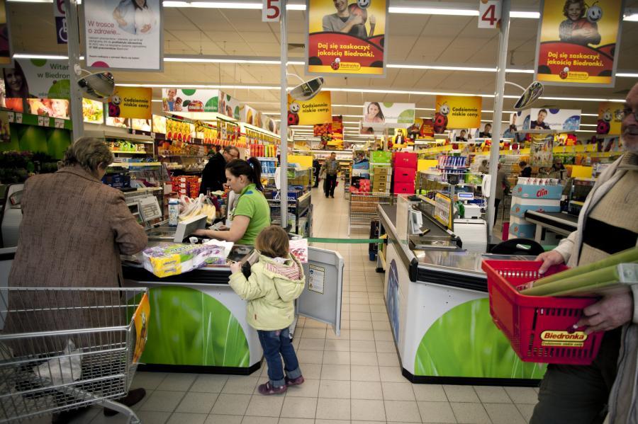 Sklep Biedronka we Wrocławiu, 22.03.2012