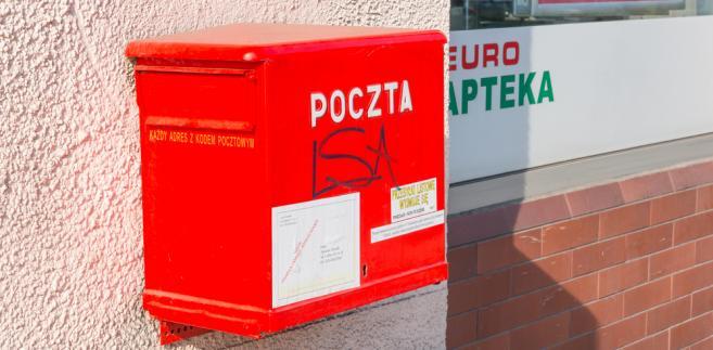 poczta polska, skrzynka pocztowa