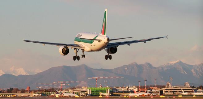 Lotnisko Linate, Mediolan, Włochy