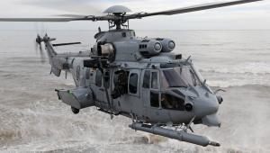 Francuski śmigłowiec H225M Caracal. Źródło: materiały prasowe Airbus Helicopters